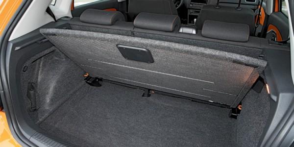 Багажник с тканевой отделкой
