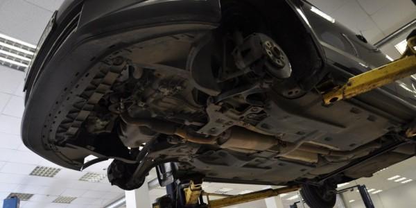Автомобиль без защиты двигателя