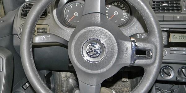 Поворачиваем рулевое колесо