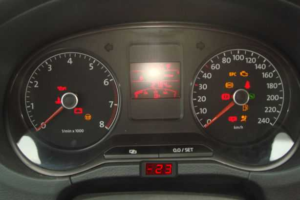 Встроенный индикатор температуры