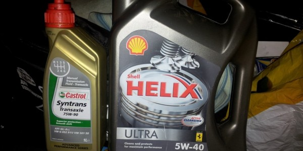 Моторное масло Shell Helix Ultra