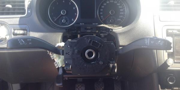 Демонтируем рулевое колесо