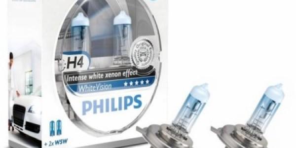 Более мощные лампы H4 от фирмы Philips