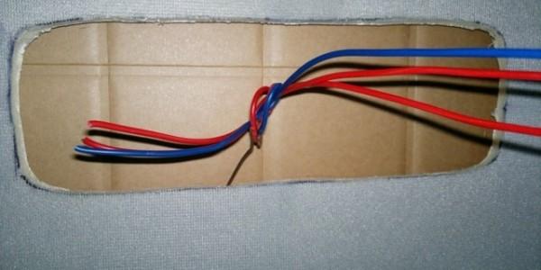 Протягиваем провода
